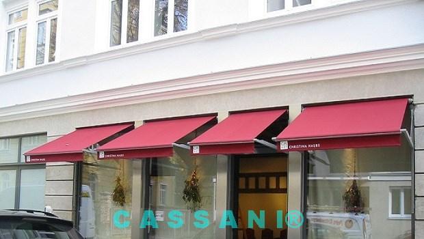 CASSANI-Historika - Historische Klapparmmarkise für denkmalgeschützte Gebäude
